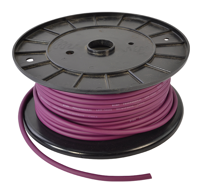 Microphone Cable 50 Metre Roll