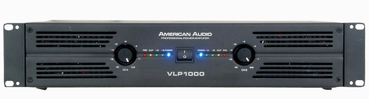 AMERICAN AUDIO AMPLIFIER 2 x 500 WATTS