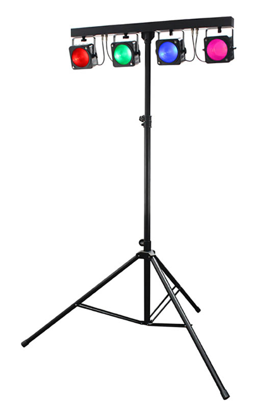 Stage Lighting Kit - 8 Pre Wired LED