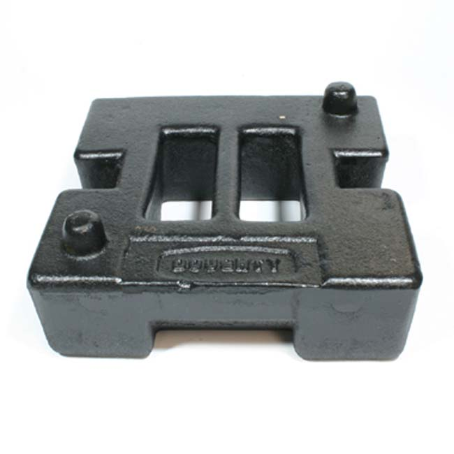 Cast Iron brace weight