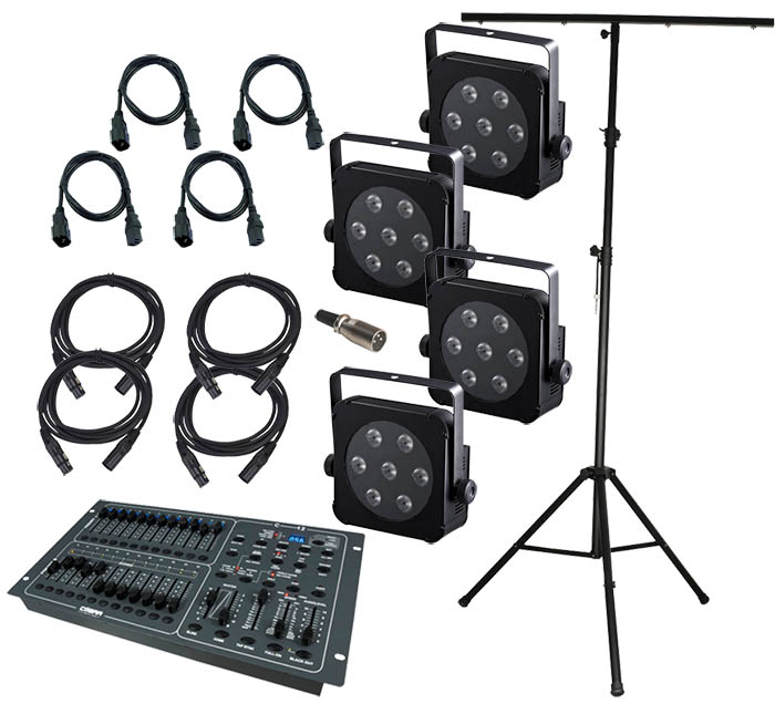 PLANO7 & CONTROL12 Stage Lighting Syst