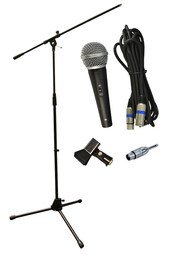 Dynamic Microphone & Stand Set