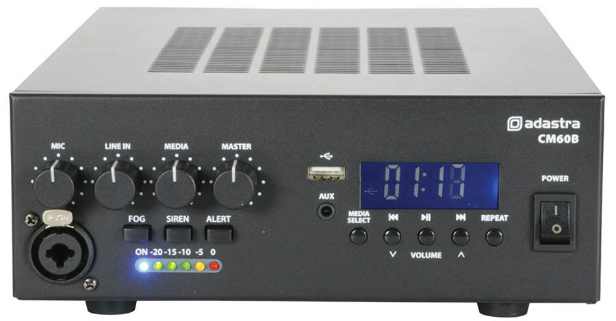 100 Volt 60 Watt Amplifier with Blueto
