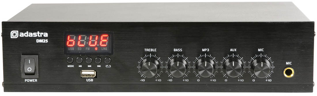Digital Mono PA Amplifier with USB/FM