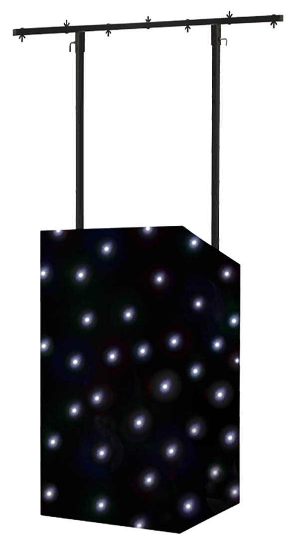 Equinox Micron DJ Booth WHite LED Star