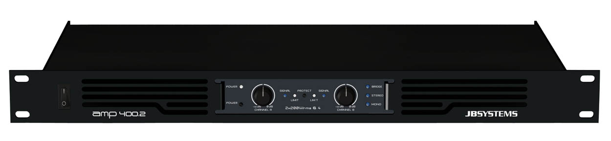 JB SYSTEMS 2x400WATT AMPLIFIER