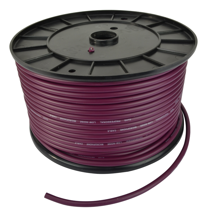 Microphone Cable - 100M Reel