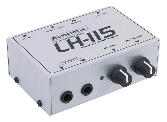 Omnitronic LH-115 Personal Monitor-Mixer-Amp