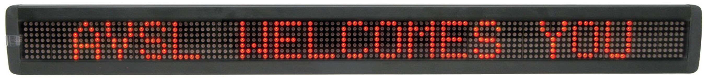 Moving Message Board with Red LEDs