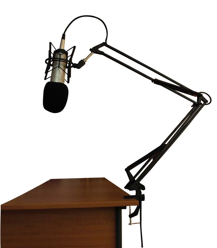 ANGLEPOISE MICROPHONE STAND (BLACK)