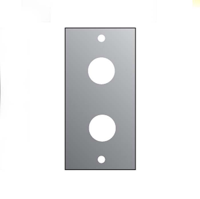 2U 2*JACK PANEL FOR M/P/S  1/10TH