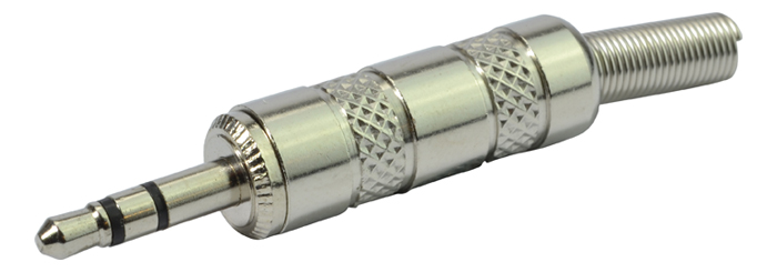 3.5mm Jack Plug – Up to 4mm Cab