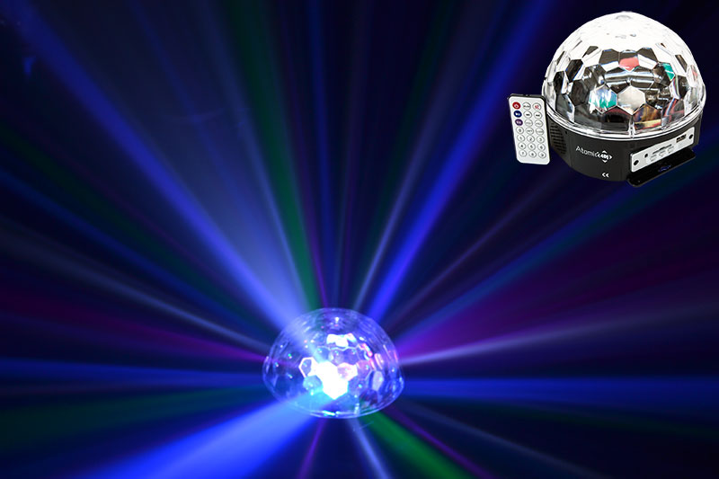 Magic LED Disco Ball MP3 and Speaker