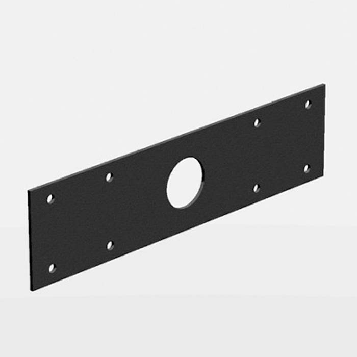 STAGEBOX END PLATE 4U X 1UD -23MM HO