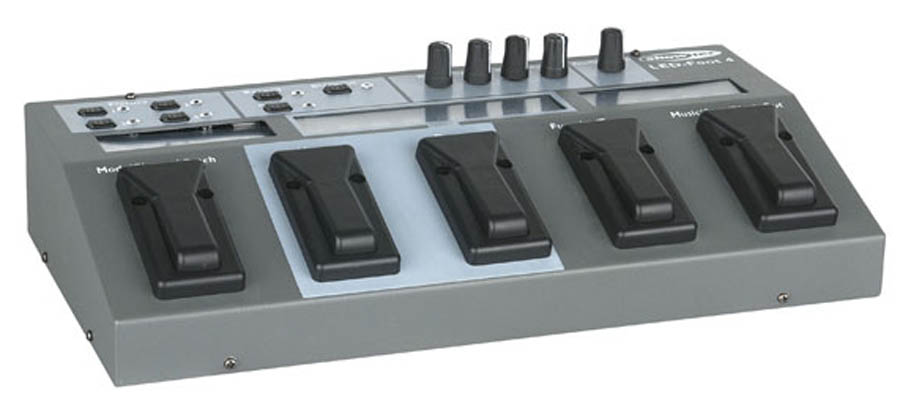 4 Channel LED Foot Controller