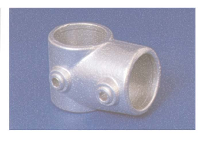 PIPECLAMP SHORT TEE
