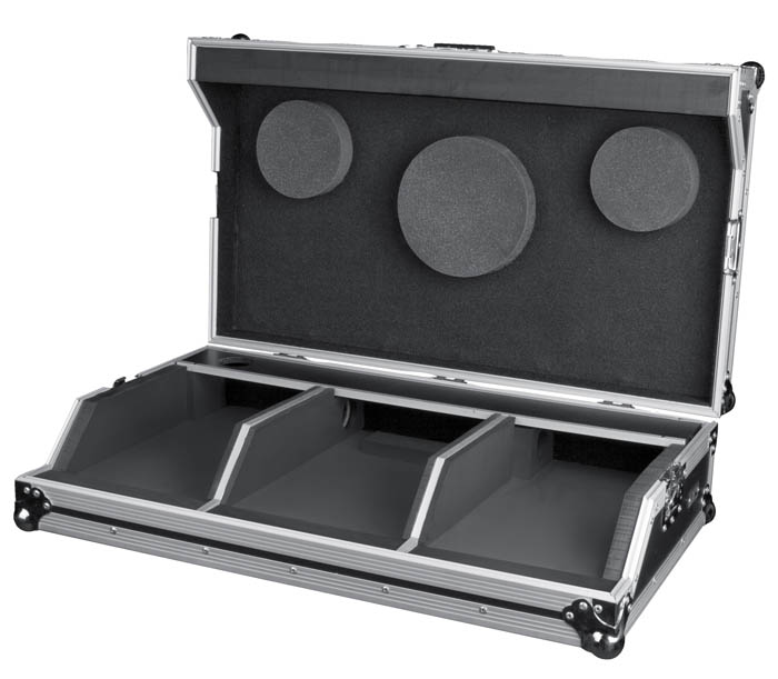 FLIGHTCASE FOR 2 X DMC-1000 & SMD2