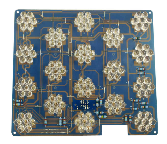 COMPLETE LED PCB FOR MULTIFORM LS1130