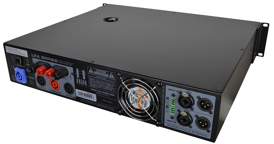 Hill Audio 2 x 900 Watt Amplifier