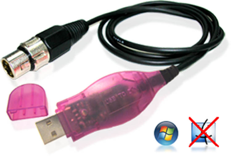 Sweetlight Cable DMX Software Interface