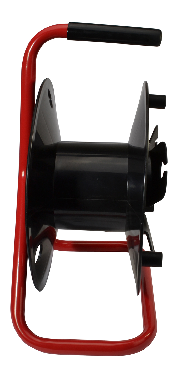Empty Cable Reel Red Frame