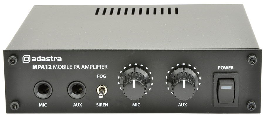 Adastra MPA12 Mobile PA Amplifier