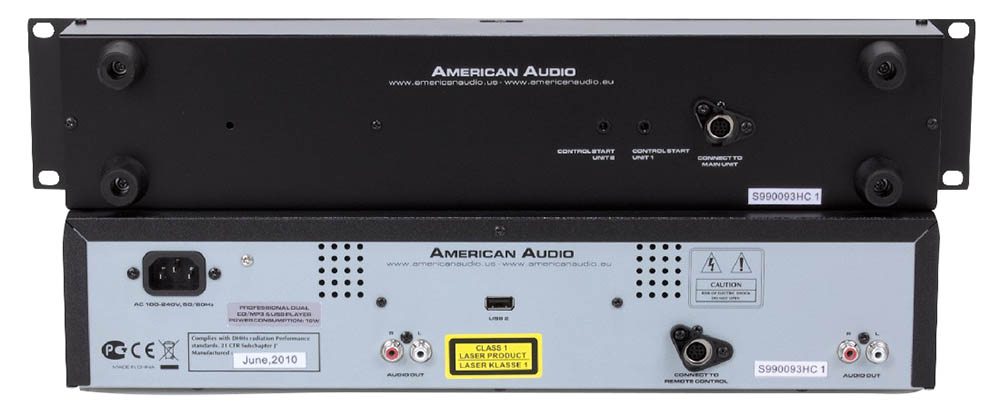 American Audio UCD-200 Mk2 Dual CD Pla