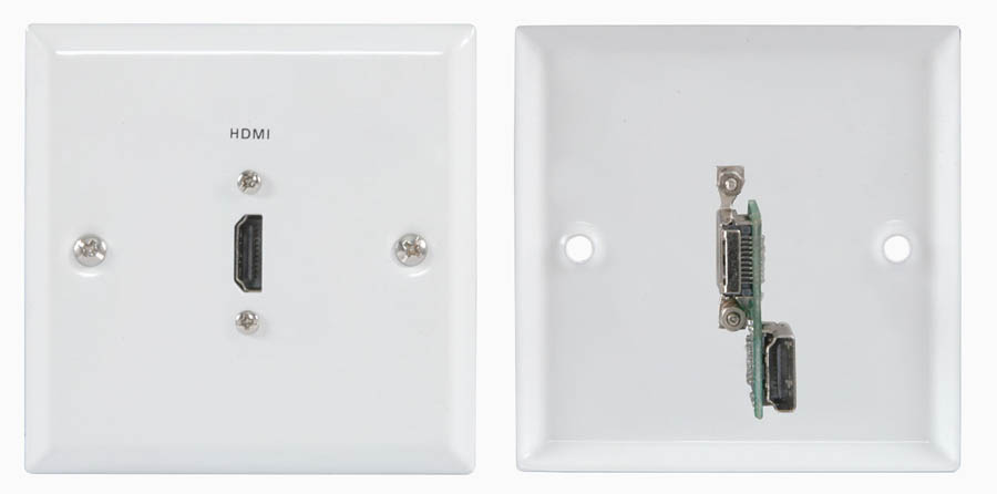 Hdmi Connector Wall Plate Connector Panels