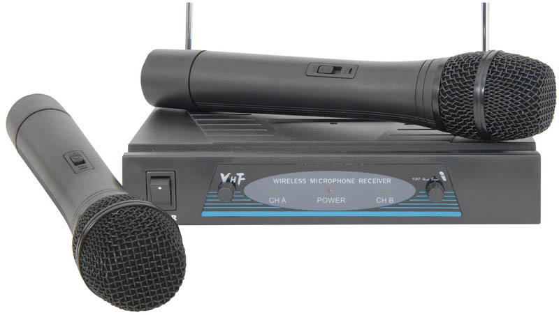 DUAL VHF MICROPHONE SYSTEM