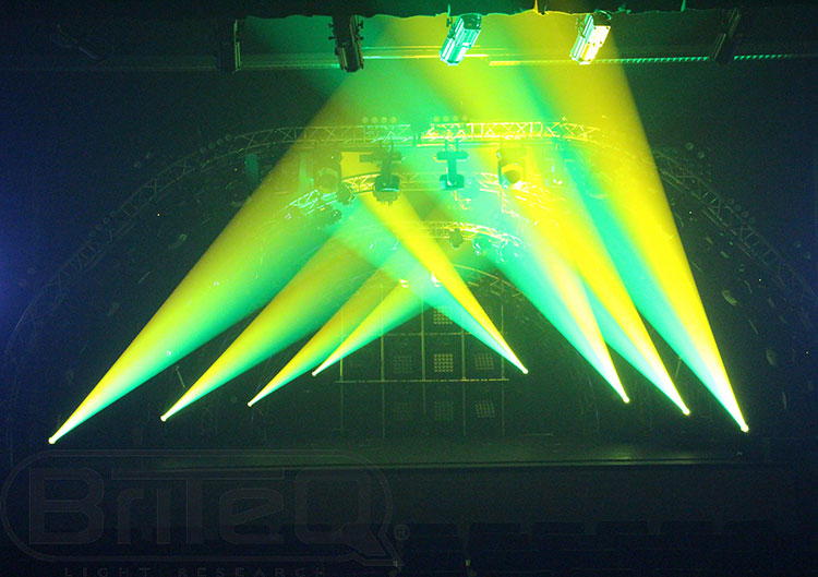 BriteQ BT-Meteor LED Moving Head