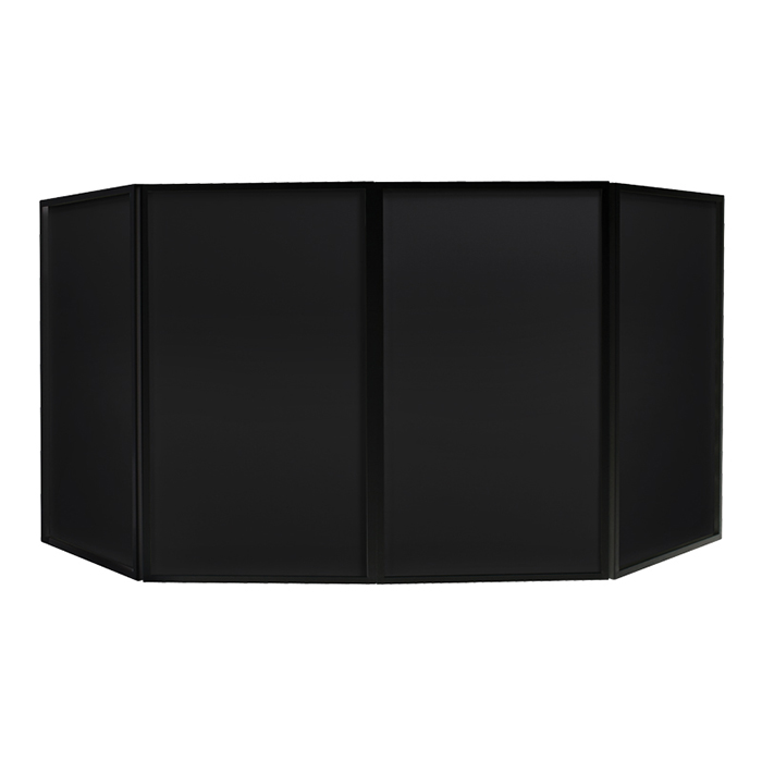Foldable DJ Screen Black (Bag Included