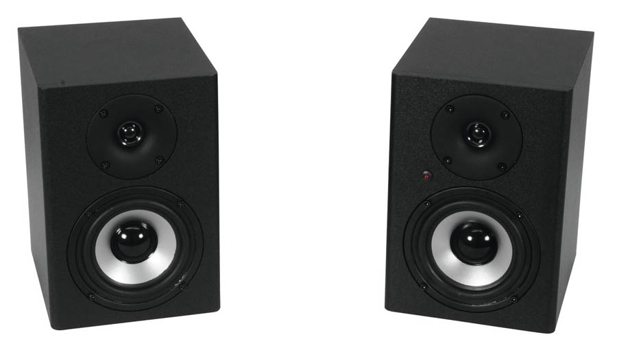Omnitronic PME-4 Studio Monitors