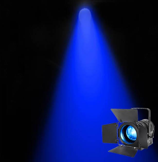 LED Fresnel 75w RGBW