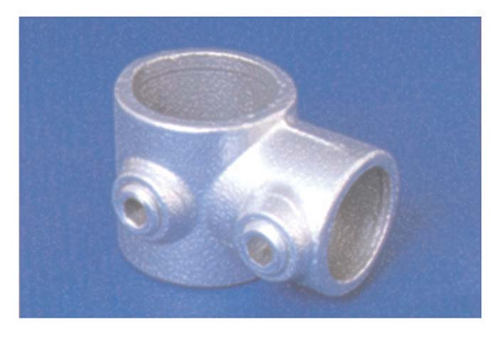 PIPECLAMP SHORT TEE (REDUCTING 60.3 X%