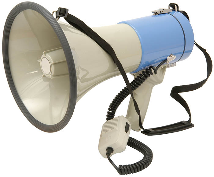 Megaphone 25 Watt 1Km Projection
