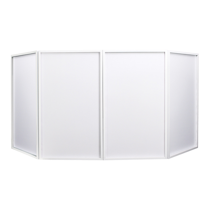 Foldable DJ Screen White (Bag Included