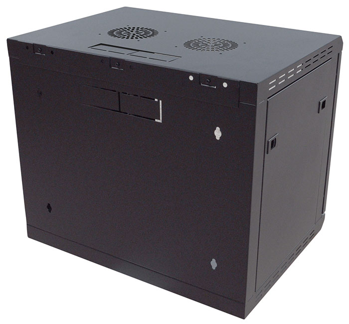 9U Wall Mounting Rack Cabinet 450mm