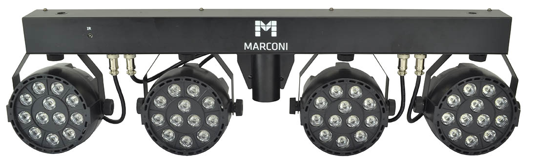Micro RGBW Four LED Par Can Lighting%2