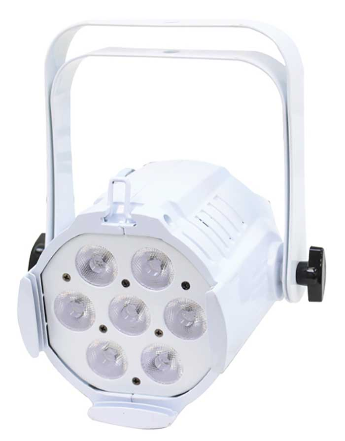 Compact LED Parcan Cool and Warm White