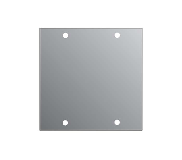 2U BLANK PANEL FOR M/P/S  2/10TH