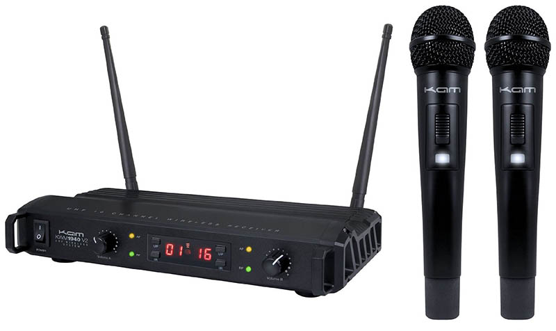 Kam KWM1940HH V2 Dual Microphone System