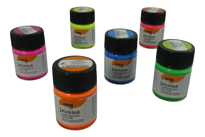UV Fabric Paint - Multiple Colours Ava