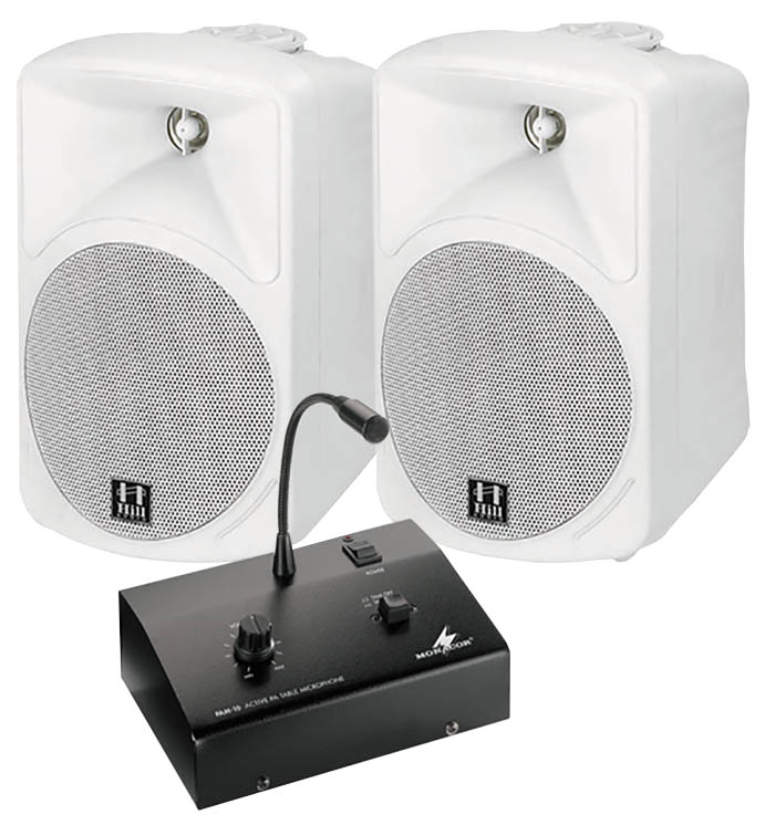Small Microphone PA System