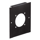 2 MODULE WIDE FRONT PANEL - BULGIN 8