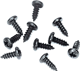 BLACK SCREWS - ENDPLATES TO EXTRUSION