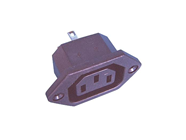 EUROPLUG FEMALE PANEL MOUNT