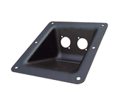 RECESSED PLATE FOR 2 X SPEAKON