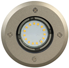 Stainless Steel Circle LED Deck Light