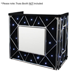 Truss Booth LED Starcloth Cool White