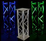 Professional DJ Truss Plinth 1M
